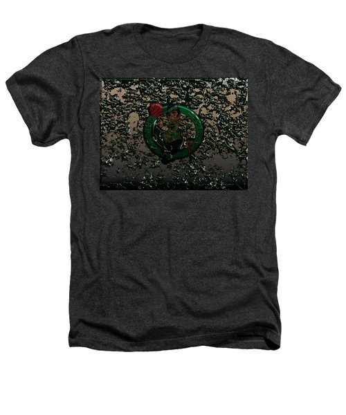 The Boston Celtics 1c Heathers T-Shirt by Brian Reaves