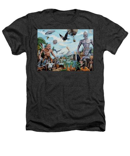The World Of Ray Harryhausen Heathers T-Shirt by Tony Banos