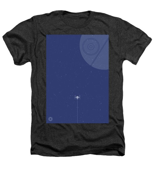 Tie Fighter Defends The Death Star Heathers T-Shirt