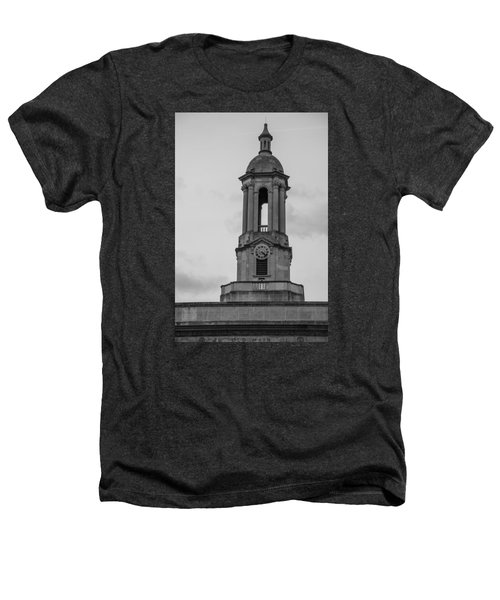 Tower At Old Main Penn State Heathers T-Shirt by John McGraw