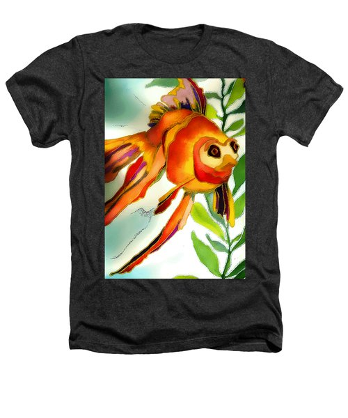 Underwater Fish Heathers T-Shirt by Lyn Chambers