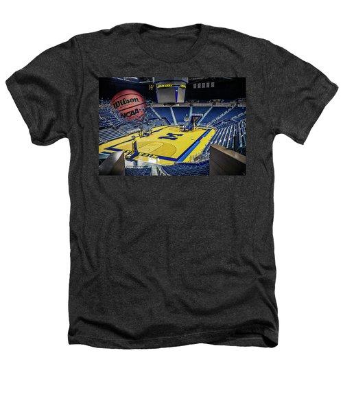 University Of Michigan Basketball Heathers T-Shirt