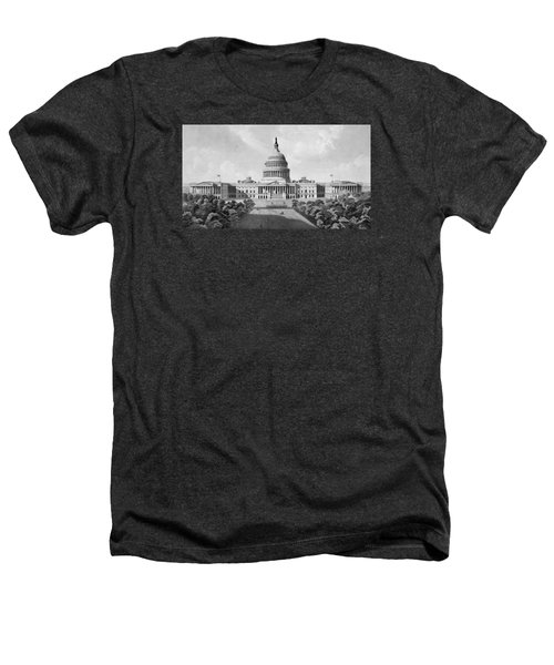 Us Capitol Building Heathers T-Shirt by War Is Hell Store