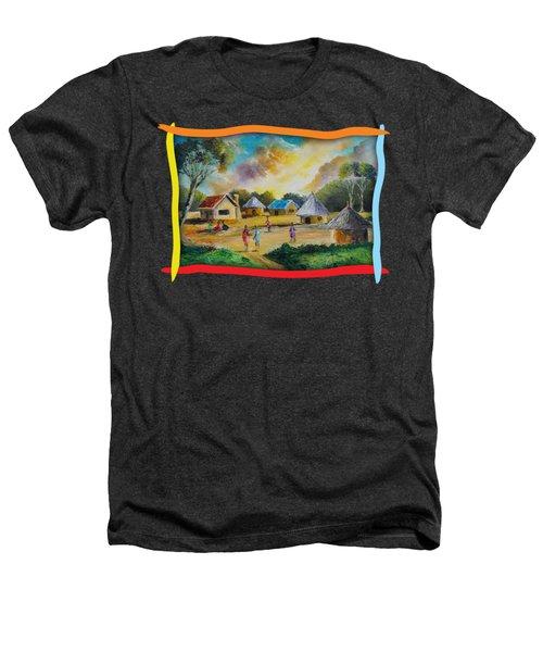 Village Life Heathers T-Shirt