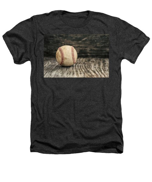 Vintage Baseball Heathers T-Shirt by Terry DeLuco
