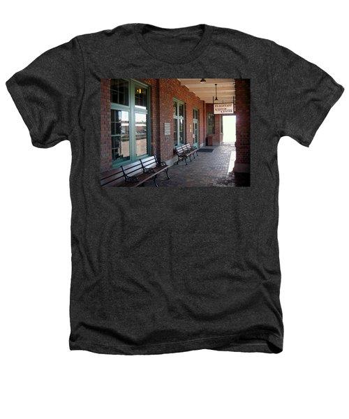 Visitors Center Train Station Heathers T-Shirt
