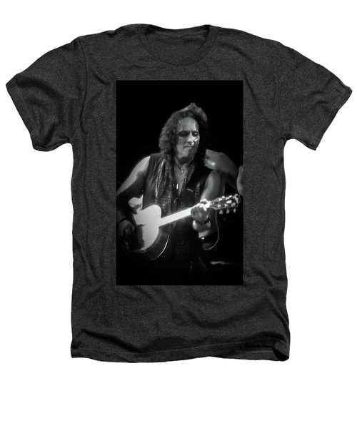 Vivian Campbell - Campbell Tough3 Heathers T-Shirt by Luisa Gatti
