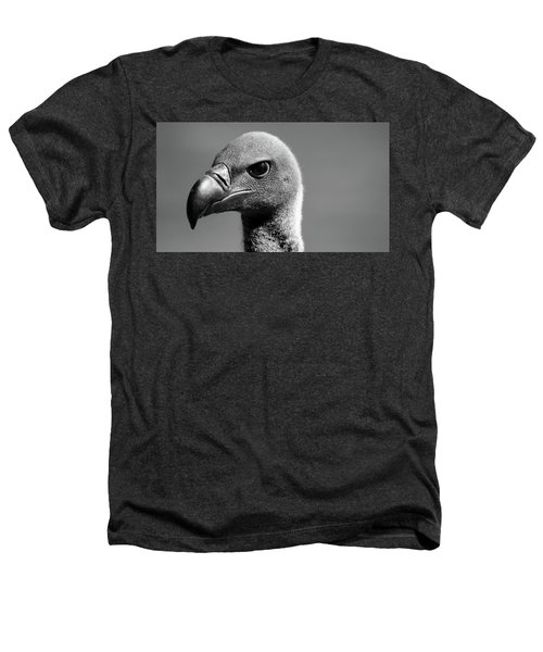 Vulture Eyes Heathers T-Shirt by Martin Newman