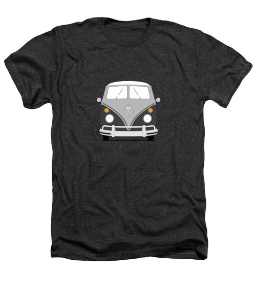 Vw Bus Grey Heathers T-Shirt by Mark Rogan