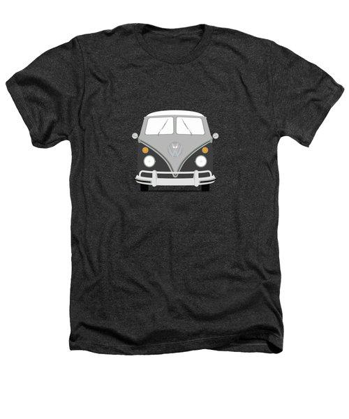 Vw Bus Grey Heathers T-Shirt