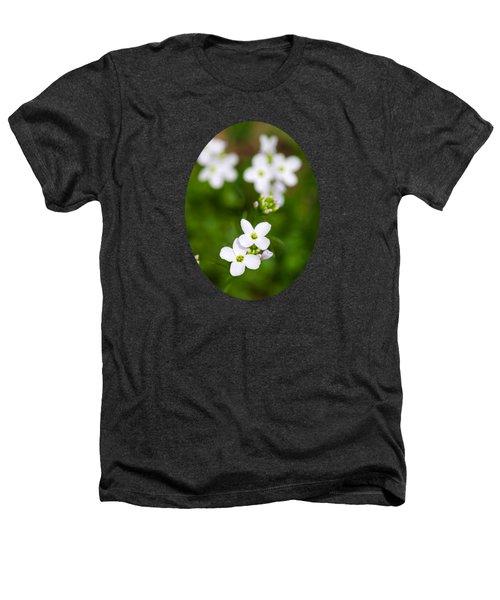 White Cuckoo Flowers Heathers T-Shirt