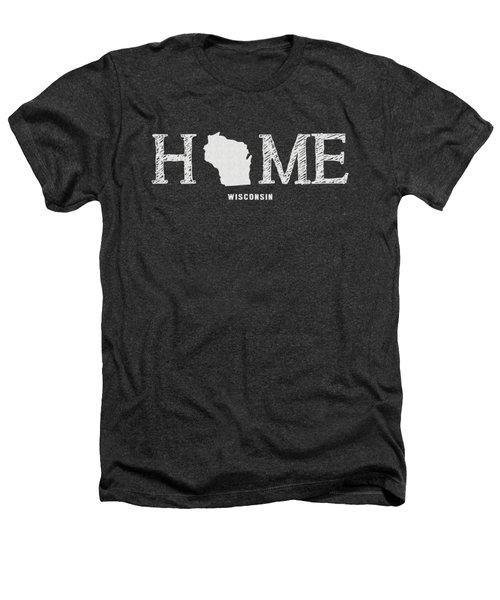 Wi Home Heathers T-Shirt by Nancy Ingersoll