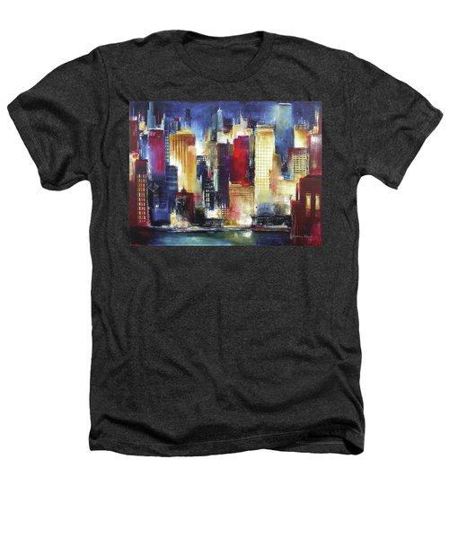 Windy City Nights Heathers T-Shirt