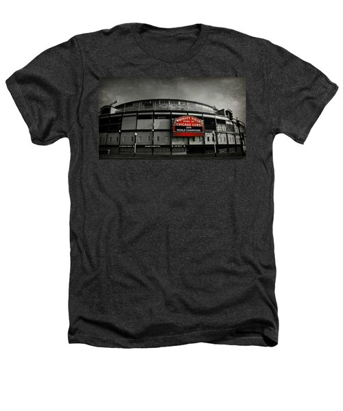 Wrigley Field Heathers T-Shirt by Stephen Stookey