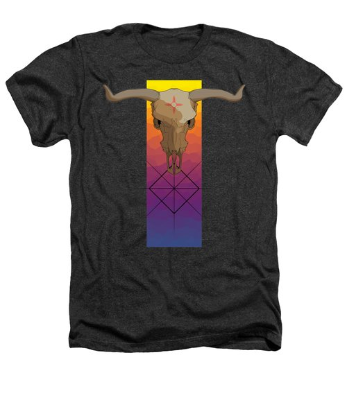 Zia Symbol Heathers T-Shirt