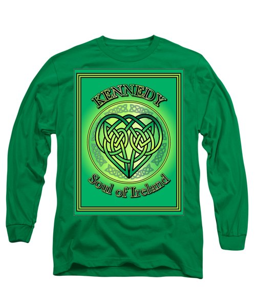 Kennedy Soul Of Ireland Long Sleeve T-Shirt by Ireland Calling