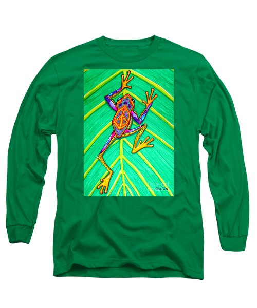 Peace Frog Long Sleeve T-Shirt