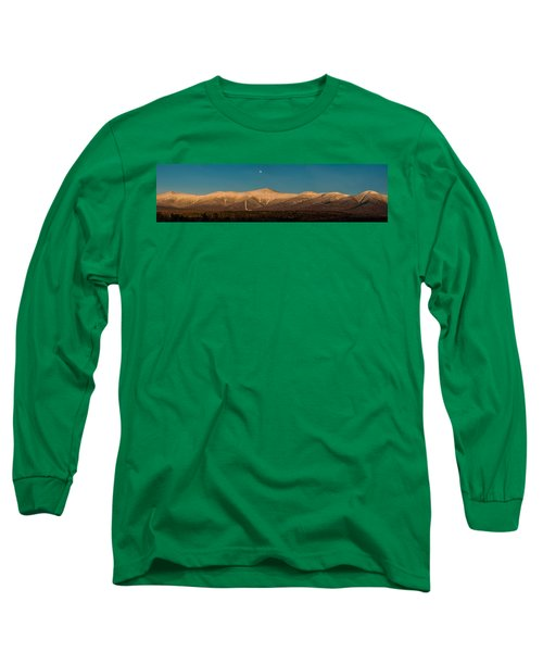 The Presidential Range White Mountains New Hampshire Long Sleeve T-Shirt
