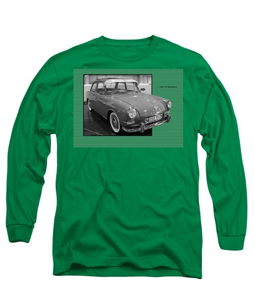 1965 Vw Notchback Long Sleeve T-Shirt