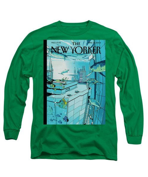 New Yorker April 25th, 2005 Long Sleeve T-Shirt
