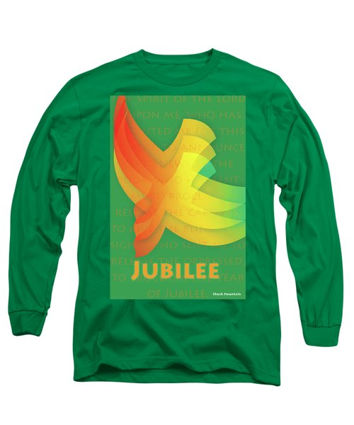 Jubilee Long Sleeve T-Shirt by Chuck Mountain