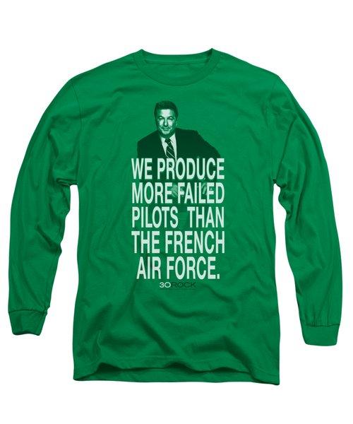 30 Rock - Failed Pilots Long Sleeve T-Shirt