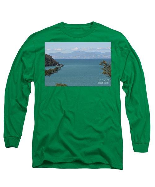 Abel Tasman Split Apple Bay New Zealand Long Sleeve T-Shirt
