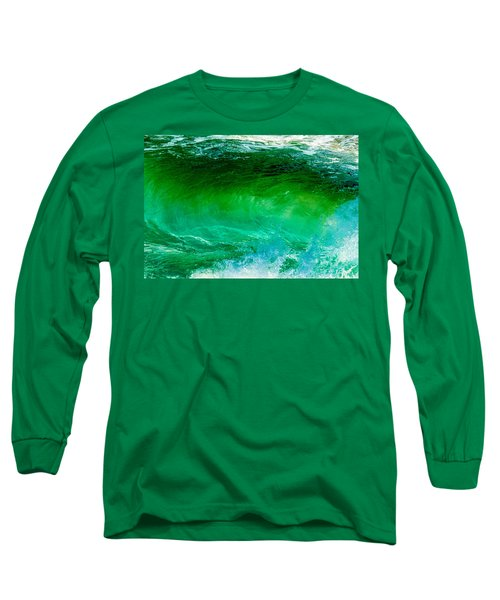 Abstract Wave 3 Long Sleeve T-Shirt