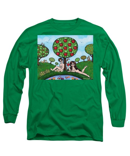 Adam And Eve The Naked Truth Long Sleeve T-Shirt