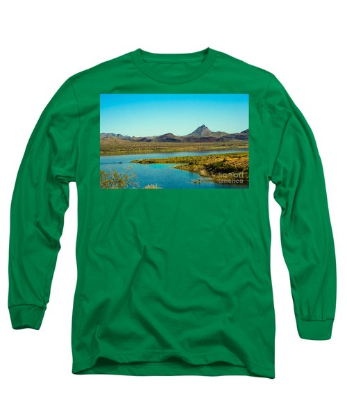 Alamo Lake Long Sleeve T-Shirt by Robert Bales