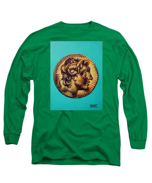 Alexander The Great Long Sleeve T-Shirt