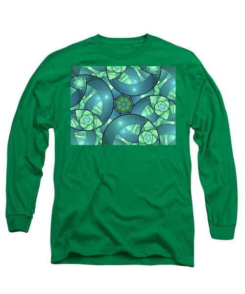 Long Sleeve T-Shirt featuring the digital art Art Deco by Gabiw Art