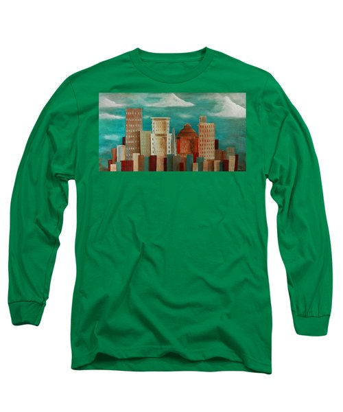 Asheville Skyline Long Sleeve T-Shirt