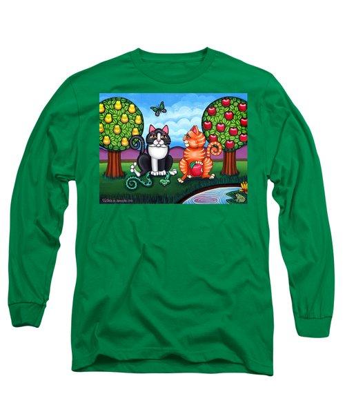 Atom And Eva Long Sleeve T-Shirt