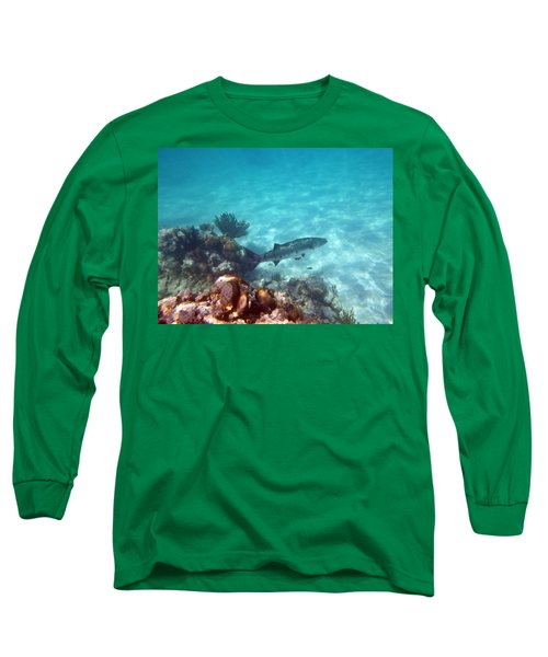 Long Sleeve T-Shirt featuring the photograph Barracuda by Eti Reid