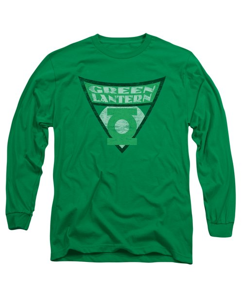 Batman Bb - Green Lantern Shield Long Sleeve T-Shirt