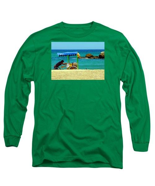 Beach Entrepreneur In San Jose Del Cabo Long Sleeve T-Shirt