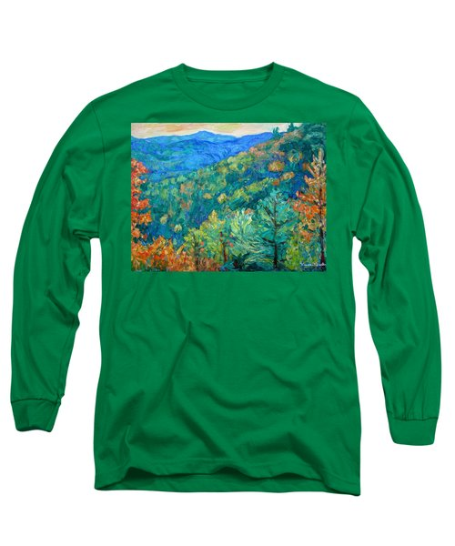 Blue Ridge Autumn Long Sleeve T-Shirt