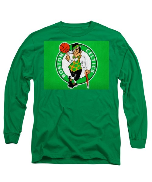 Boston Celtics Canvas Long Sleeve T-Shirt