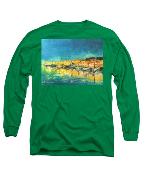 Cannes By Night Long Sleeve T-Shirt