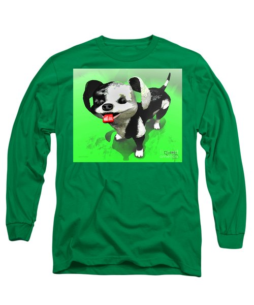 Long Sleeve T-Shirt featuring the painting Checkmate by Dave Luebbert
