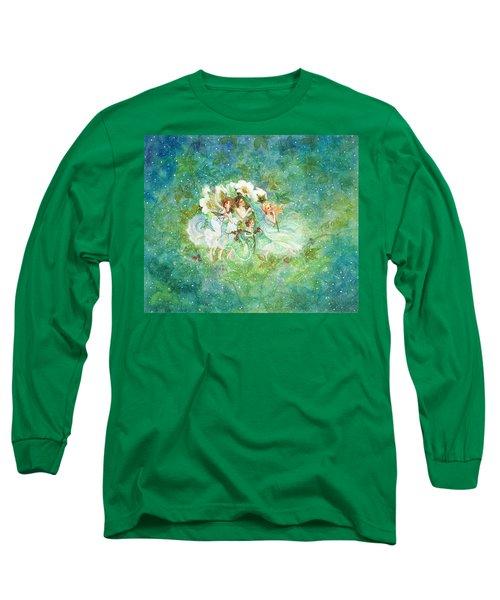 Christmas Fairies Long Sleeve T-Shirt