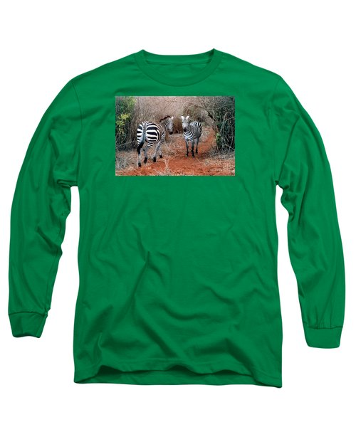 Coming And Going Long Sleeve T-Shirt by Phyllis Kaltenbach