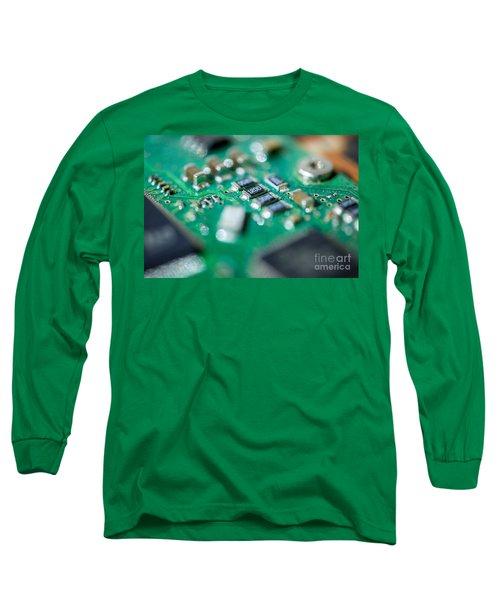 Computer Board Long Sleeve T-Shirt