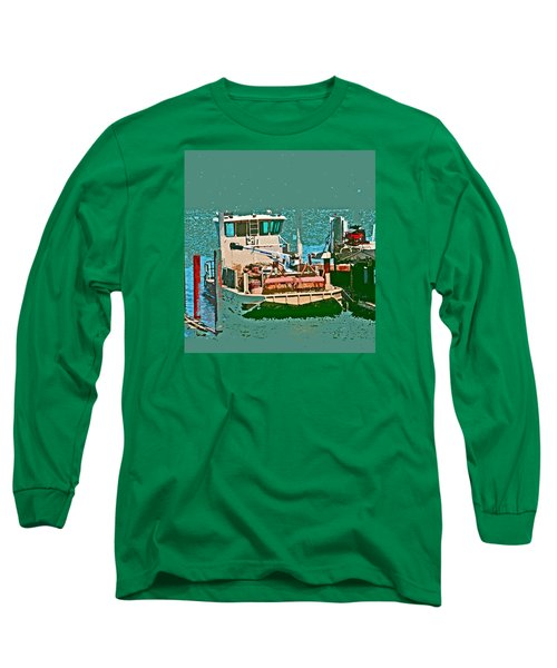 Coos Bay Oyster Farm Long Sleeve T-Shirt