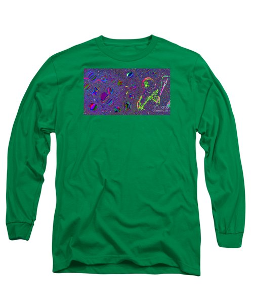 Crazy Fingers   Long Sleeve T-Shirt