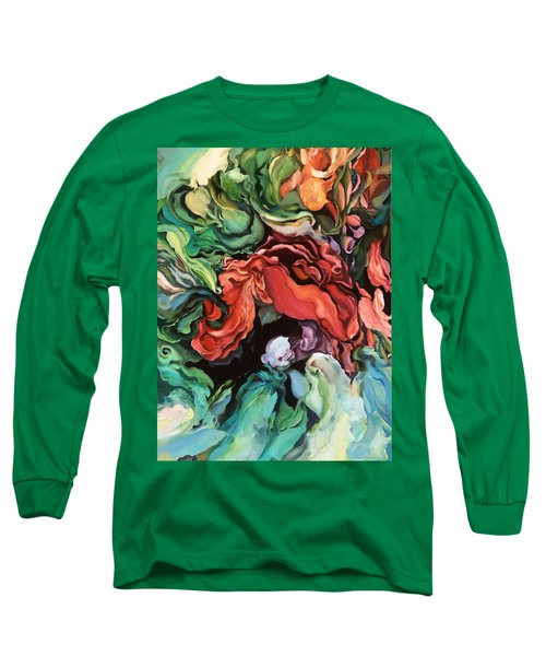 Dancing For Joy - Acrylic Painting - Original Art Long Sleeve T-Shirt