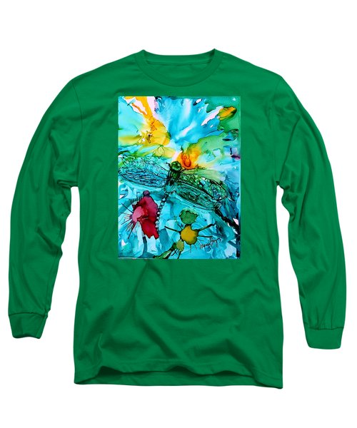 Dragonfly Blues Long Sleeve T-Shirt