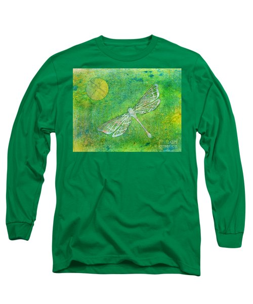 Dragonfly Long Sleeve T-Shirt by Desiree Paquette