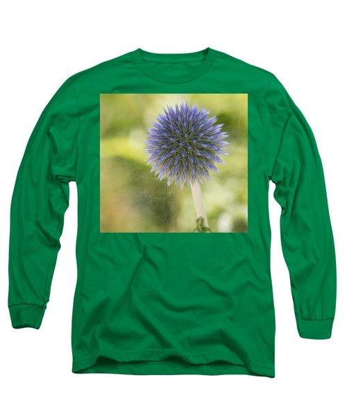 Echinops Blue Long Sleeve T-Shirt